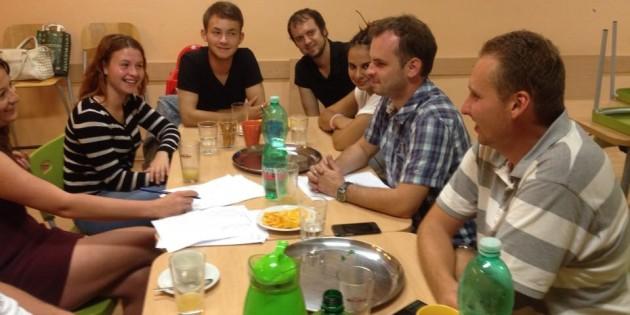 Pracovní členská schůze zlínských Mladých lidovců