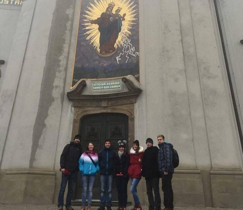 Zlínští Mladí lidovci na Svatém Hostýně