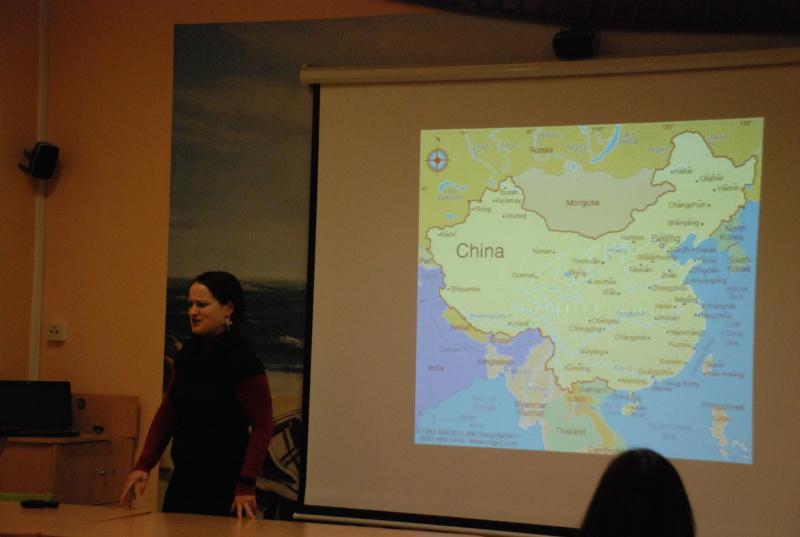 """""""Rok v zemi středu"""" – beseda o Číně"""
