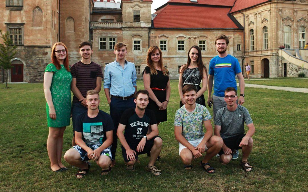 Do Želiva se sjeli Mladí lidovci, aby zde pilovali své politické dovednosti na tradičním Summercampu