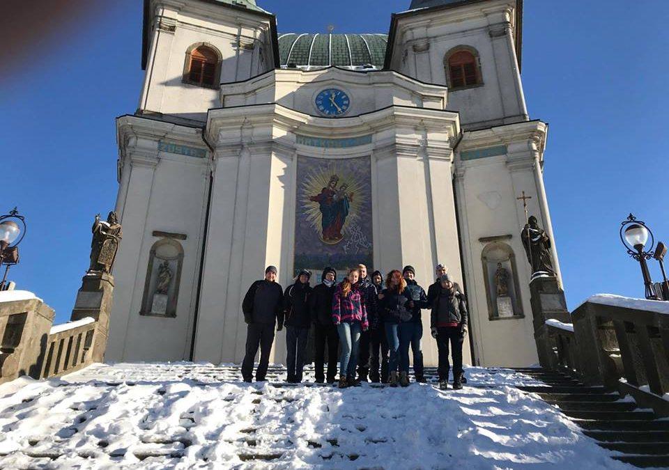 Putovali jsme na Svatý Hostýn modlit se za politiky