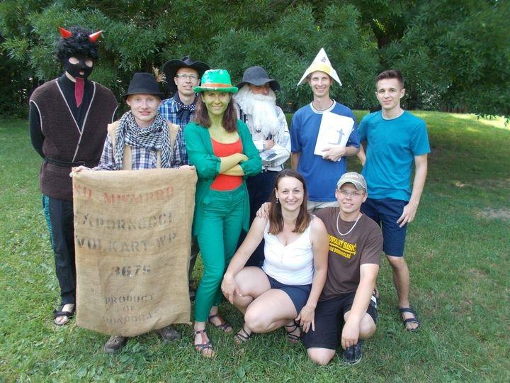 Mladí lidovci uspořádali pro děti Pohádkový les