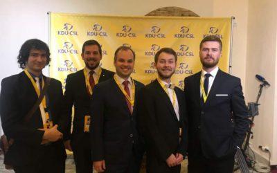 Sjezd KDU-ČSL pohledem našeho delegáta